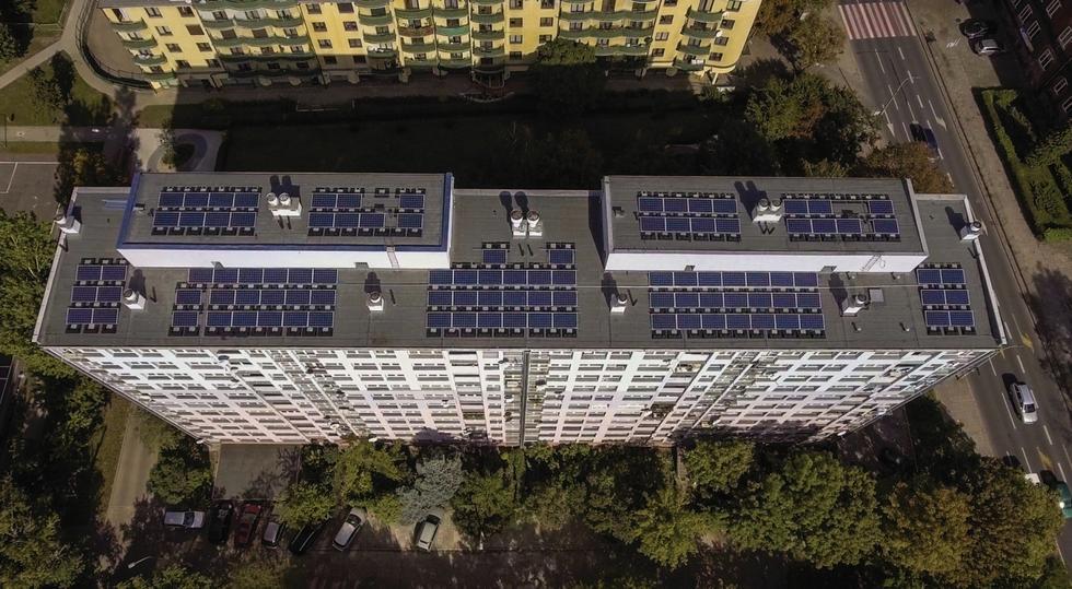Największa rozproszona elektrownia w Polsce mieści się.... na wrocławskim osiedlu